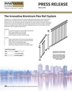 Flex Rail Insert Panel System