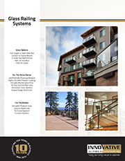 Glass Rail Brochure