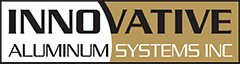 Innovative Aluminum Systems Inc. Sticky Logo