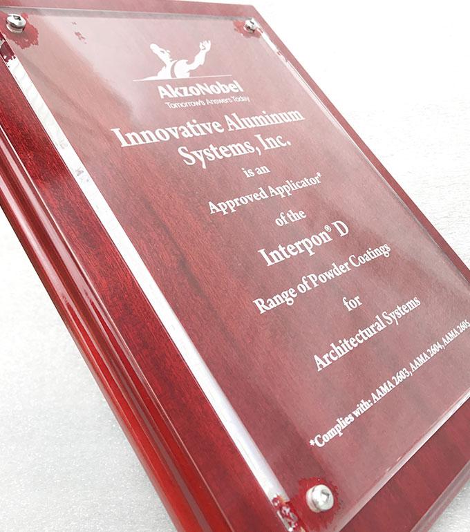 Innovative Aluminum Systems Award