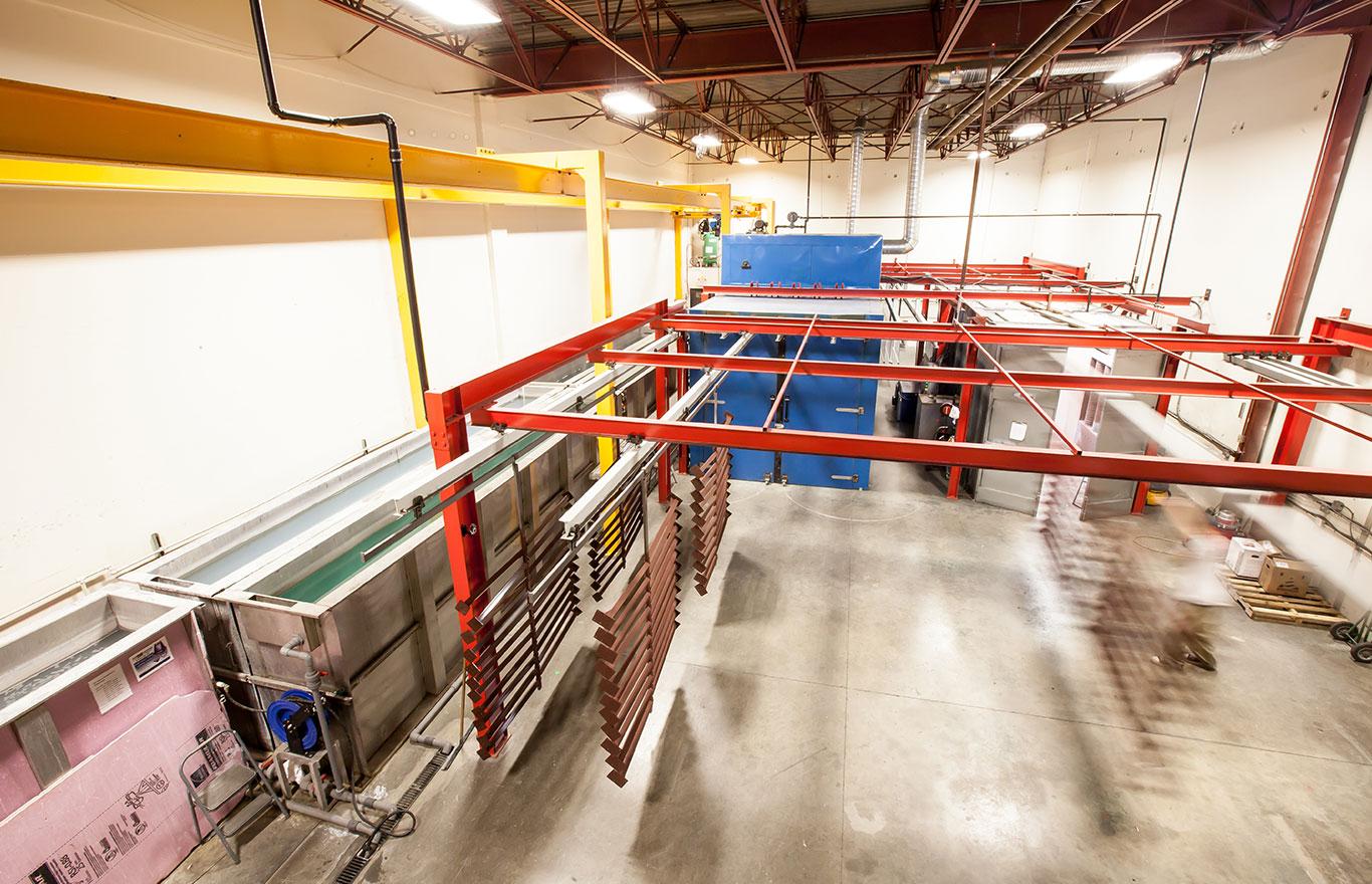 Aluminum Railings- Aluminum Deck Railings- Innovative Aluminum Systems- Aldergrove BC- custom features- our factory